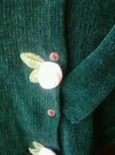 Pretty Baby Girl's Chenille Roses Button-up Sweater by All Mine 24 Months🌲