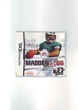 MADDEN NFL 06 - NINTENDO DS GAME / LITE DSi 3DS COMPATIBLE - COMPLETE - VGC