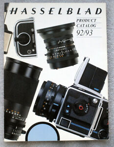 HASSELBLAD Product Catalog 1992 1993