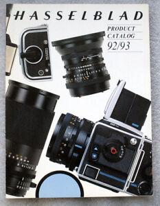 HASSELBLAD Product Catalog 1992 1993