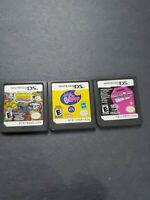 Nintendo DS 3 Games Monster High Ghoul Spirit, Littlest Pet Shop & Moshi