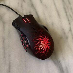 Razer Naga Molten MMO Gaming Mouse