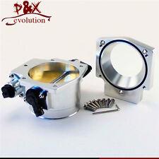 SL 102mm Throttle Body w/ TPS +Manifold Adapter Plate for LS LS2 LS3 LS6 LS7 LSX