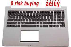 For Asus Zenbook UX51VZ U500VZ Keyboard Czech US CZ Klávesnice Backlit Top case
