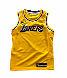 Los Angeles Lakers Jersey Kid's Nike NBA Icon Plain Basketball Jersey - New