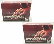2 x HyperGH 14X Massive Gains in Lean Muscles Boosts Strength From Workout