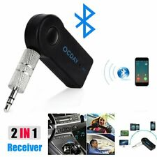 Wireless Bluetooth 3.0 Receiver 3.5mm AUX Audio Stereo Music Car Adapter NEW