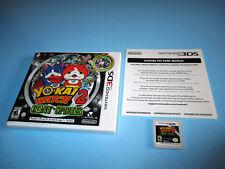 Yo-Kai Watch 2: Bony Spirits Nintendo 3DS XL 2DS Game w/Case & Insert