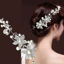 Diadème  Bandeaux strass mariée  + épingles à cheveux accessoires Mariage Soirée