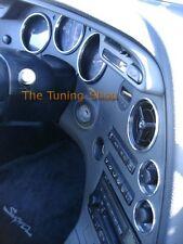 Fits Toyota Supra MKIV 1993-1998 JZA80 Chrome Rings Set Of 7 Polished Alloy New