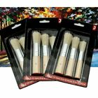 3Pcs/Set Wooden Stencil Brush Chalk Brushes Detail Painting Oil Acrylic Round