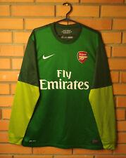 Arsenal Goalkeeper football shirt 2012-2013 long slevee size M jersey Nike