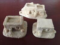 Wargames 15mm Resin Dark Age Ancients Middle East Desert Adobe Village A