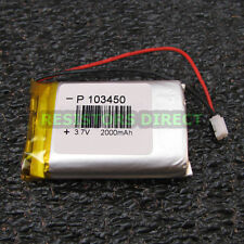 Lithium Ion Polymer 3.7v Rechargeable Battery 2000mAh Project Arduino LiPoly Y26