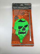 """Champion Duraseal Green Zombie Head Shoot-Out Multi-Cal 7"""" x 5.5"""" Target New!"""