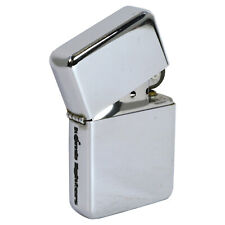 Polished Chrome Windproof Lighter. Fliptop Refillable Classy Gift Idea