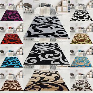 Large Modern Rugs Living Room Curve Design Rug Runner Non Slip Mat Cheap Carpets