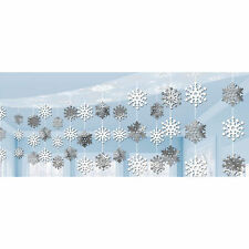 10ft Christmas Let it Snow Frozen Party Hanging Ceiling Banner Decoration