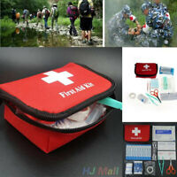 A0CD 11pcs Family First Aid Kit Set Rescue Emergency Bag Case Camping Survival