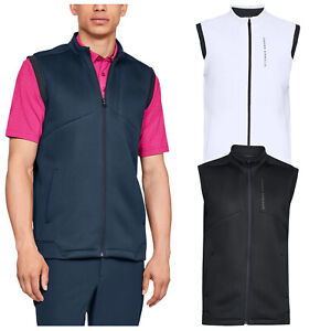 Under Armour Mens Storm Daytona Golf Vest Water Resistant UA Body Warmer Gilet