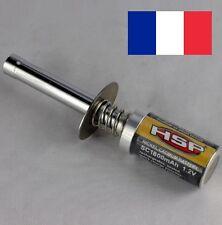 Soquet chauffe bougie starter Glow pour moteur thermique 1/8 1/10 RC