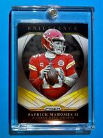 Patrick Mahomes PANINI PRIZM HOT BRILLIANCE INSERT CHIEFS FOOTBALL 2020 - Mint!