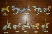 Rare Matchbox Carousel Collection Horse Set of 10! GUC. NEW LOW PRICE!