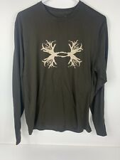 Used Under Armour Men's Regular Realtree Long Sleeve T-Shirt Large Brown