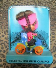 Vintage 1968 Liddle Kiddles 'N Kars Henrietta Horseless Carriage # 3641 MOC NRFC