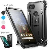 Google Pixel 4 XL 3a XL 3a 3 XL 3 Kickstand Phone Case Poetic® Shockproof  Cover