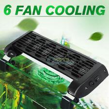 Aquarium Fish Tank Cooling Fans Tropical Marine Conch Cooling Fan 6 Heads