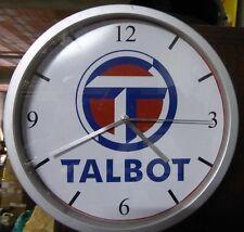Horloge pendule TALBOT ( SAMBA RALLYE 2 SUNBEAM LOTUS CHRYSLER SIMCA COTE VHC