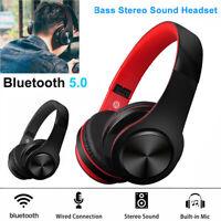 Wireless Bluetooth 5.0 Sport Earbuds Stereo Headphone Earphones Headset With Mic