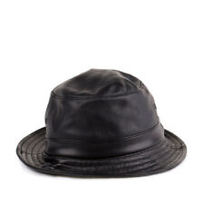 0b19ee96ca5 Supreme All Leather Bucket Hat Black 32901