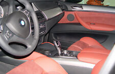 BMW Brand Genuine OEM E71 E72 X6 2008-2014 Brushed Aluminum Interior Trim New