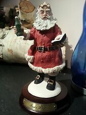 Duncan Royale Santas SODA POP SANTA Limited Collectible porcelain Figurine nos