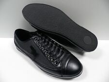 Chaussures ZY noir HOMME taille 41 baskets ville garcon shoes black NEUF #3292