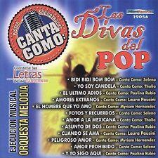 Orquesta Melodia : Pistas: Canta Como Las Divas Del Pop CD