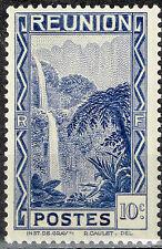 Reunion Island Famous Water Falls stamp 1945 MNH