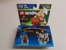 LEGO DIMENSIONS LORD OF THE RINGS GIMLI AXE CHARIOT FUN PACK 71220 NEW GM1079