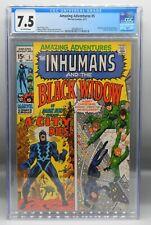 CGC 7.5 Marvel Comics AMAZING ADVENTURES #5 Inhumans BLACK WIDOW mcu Disney+ !!