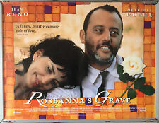 Cinema Poster: ROSEANNA'S GRAVE 1997 (Quad) Jean Reno Mercedes Ruehl