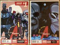 Secret Avengers #1-15 Complete Run, Ales Kot Michel Walsh Marvel Comics