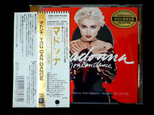MADONNA You Can Dance JAPAN 24k GOLD CD 1988 43XD-2000 W/Obi MEGA RARE!
