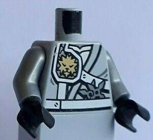 LEGO minifigure Zane - Titanium Ninja body parts torso, Scabbard