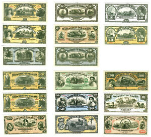 PREPRODUCTION 17 notes Republic of Hawaii US