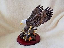 Classic Wildlife Collectible Eagle Bird Animal with Talons Open for Landing