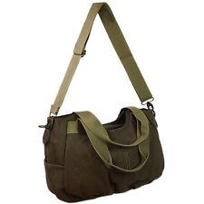 Tasche Damenhandtasche Schultertasche Umhängetasche Canvas Shopper Bag Braun