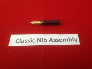 Classic Fountain Pen Gold Replacement nib assembly