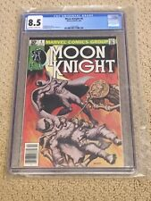 Moon Knight 6 CGC 8.5 OW/White Pages (Classic Cover!!) CGC #006